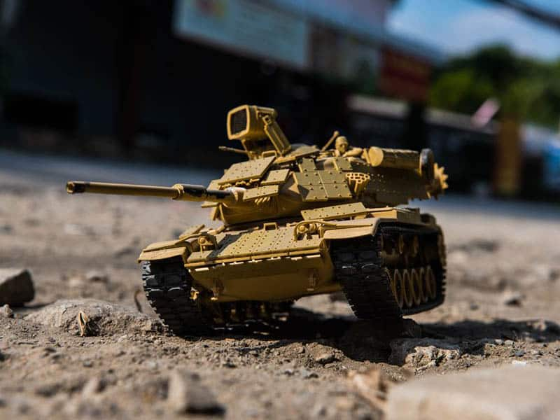 Types of Scale Model Tank Tracks